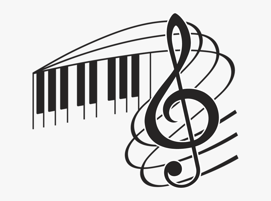 Piano clipart musique. Black church clip art