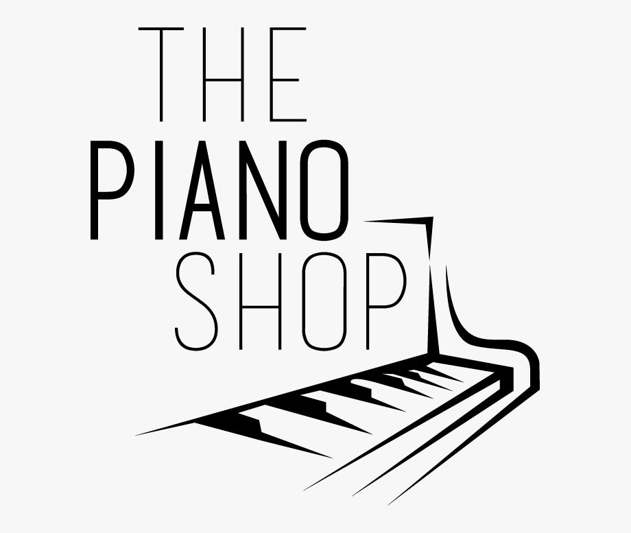 Clipart piano musique. Shop logo musical keyboard