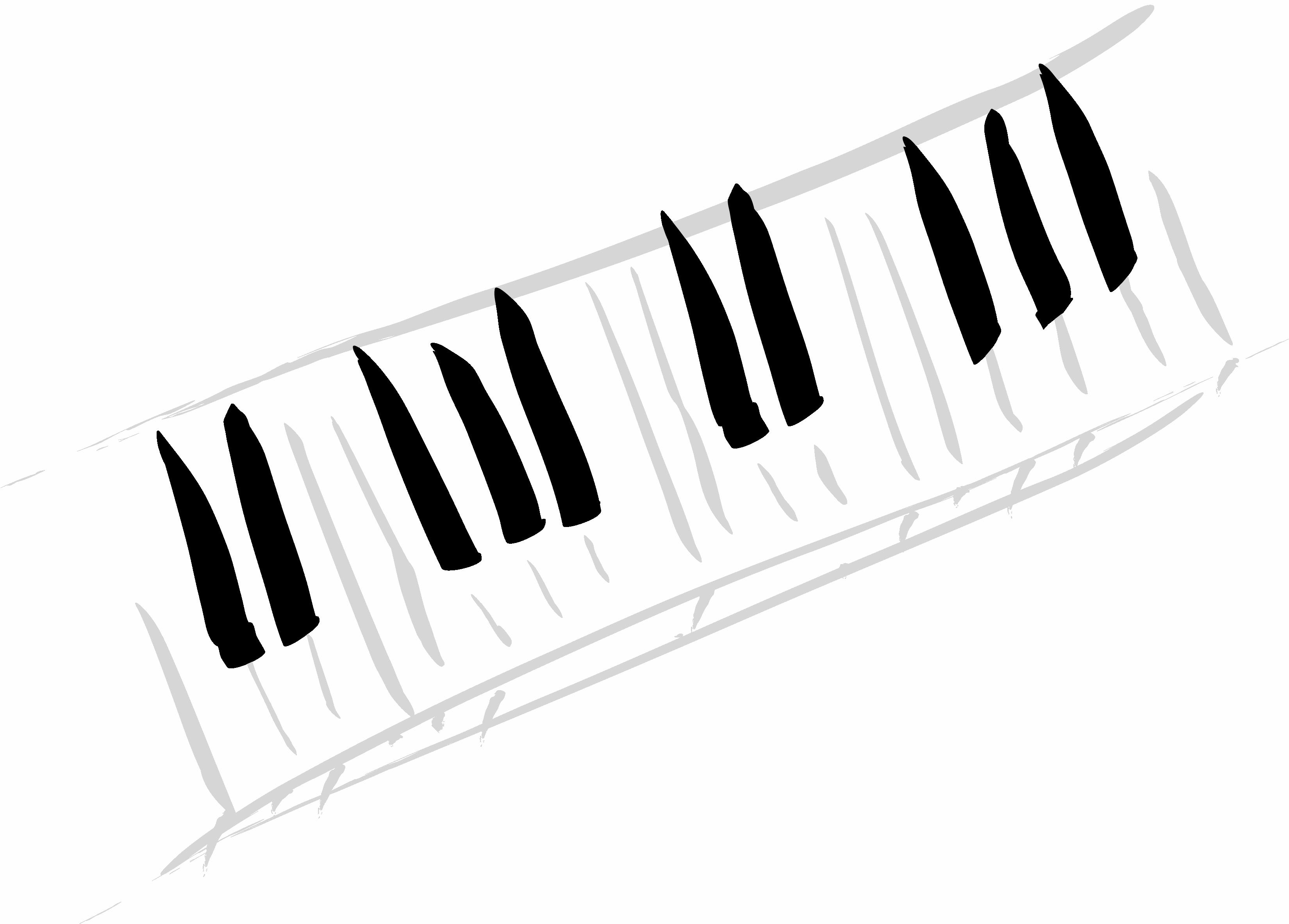 Piano musical clip art. Music clipart keyboard