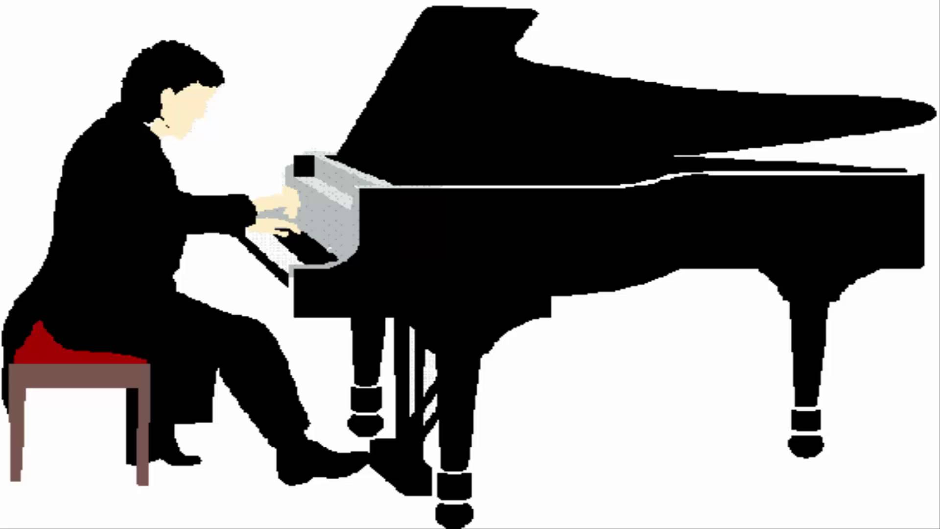 Piano clipart piano concert. Pianist free download best