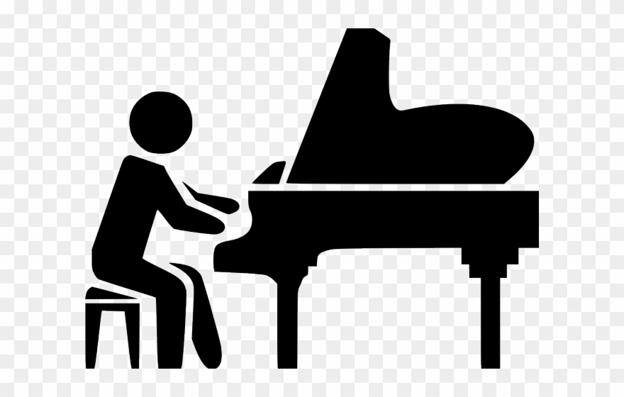 Svg icon png download. Clipart piano piano recital