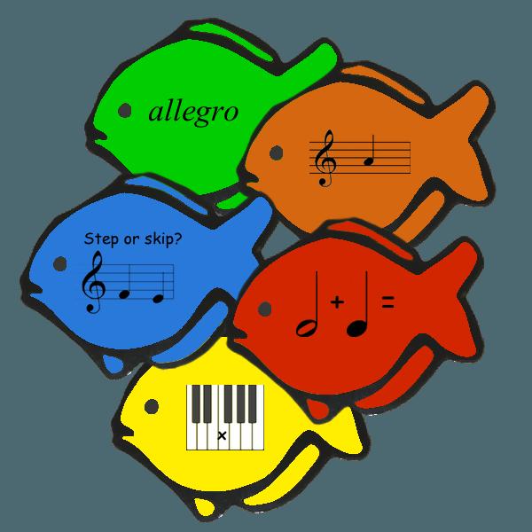 Clipart piano piano recital. Fishy flashcards pdf fish