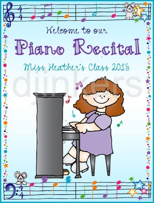 Clip art music lessons. Clipart piano piano recital