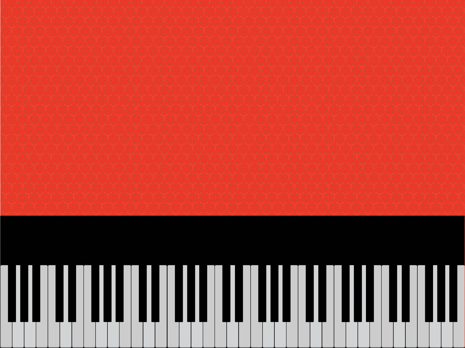Clipart piano powerpoint background. On red templates black