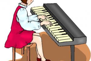 Clipart piano practice piano. Portal