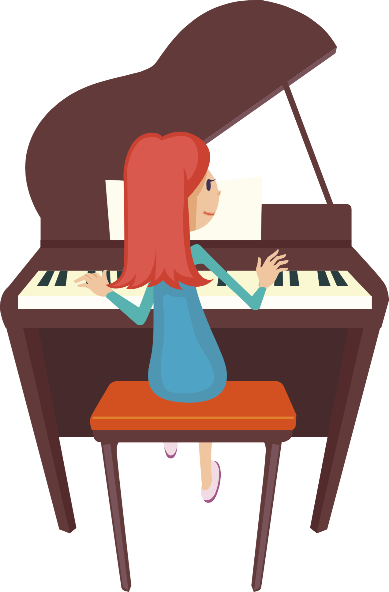 Malaysian multiple on emaze. Piano clipart practice piano
