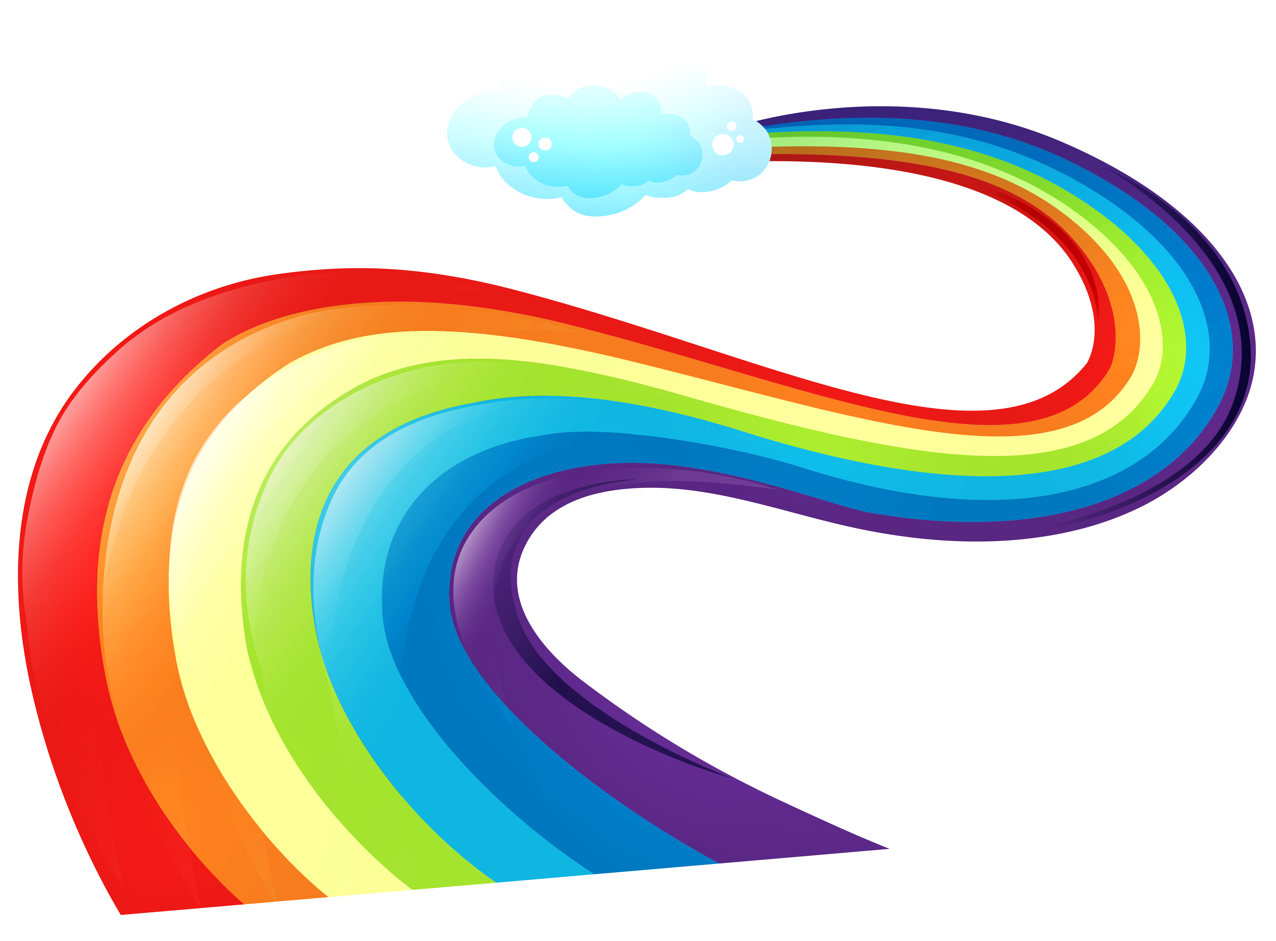 Pathway clipart transparent. Rainbow way png gallery