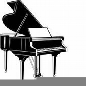 Grand images at clker. Piano clipart royalty free
