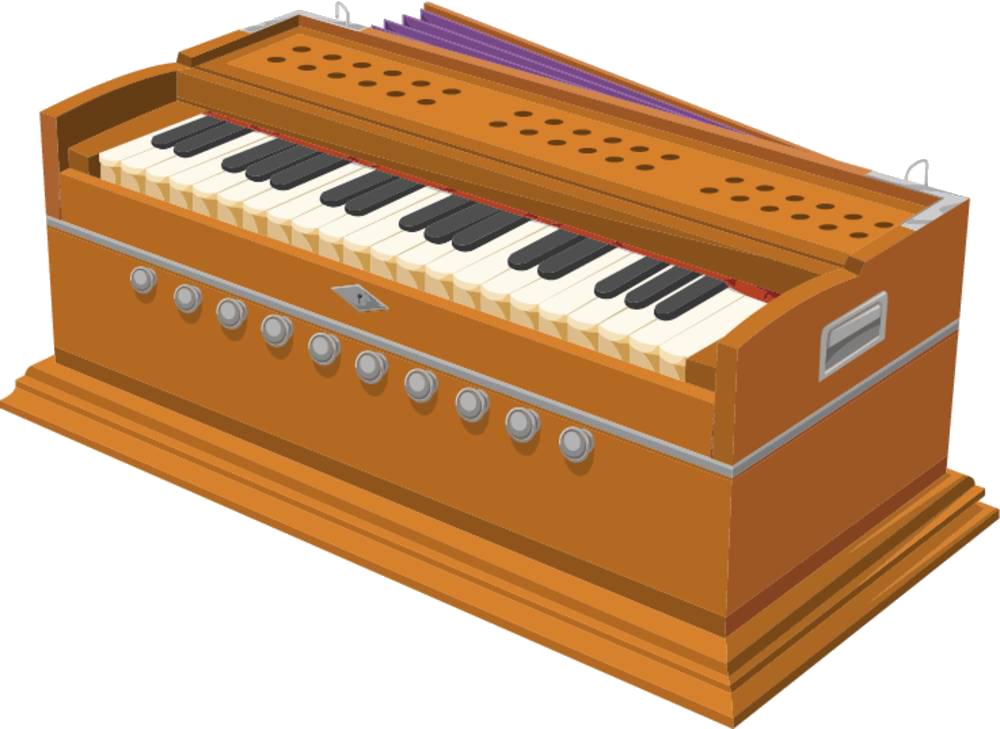 Pump organ stock photography. Clipart piano royalty free