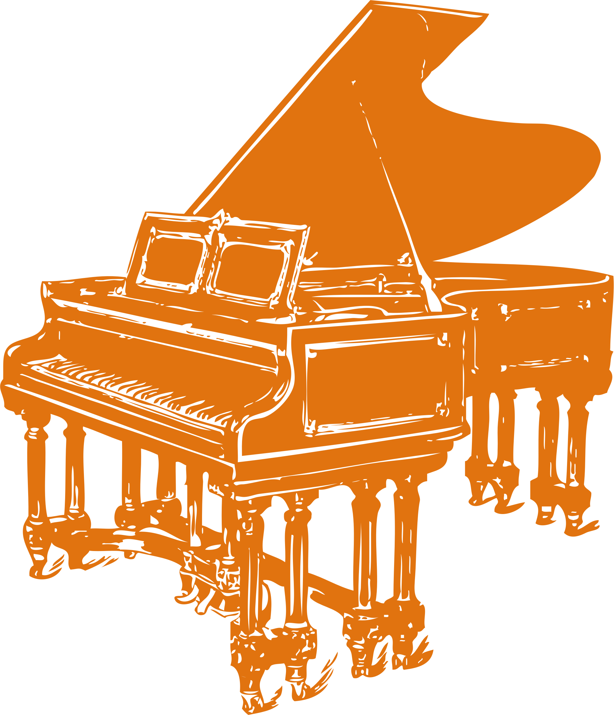 Clipart piano side view. Yc music malaysia sdn