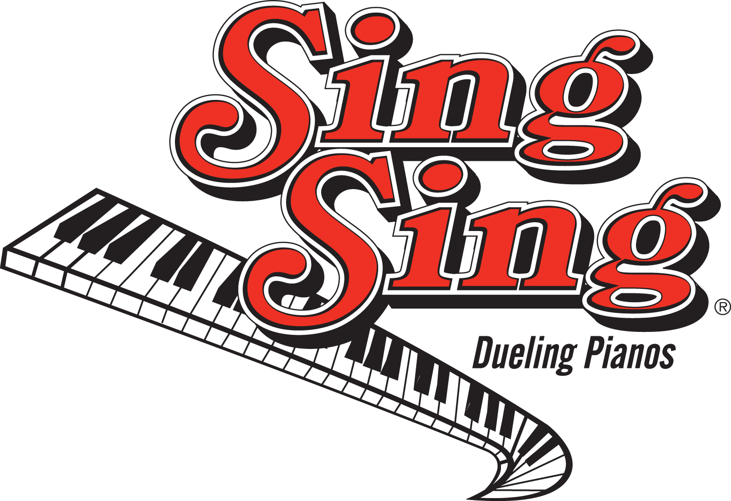 Singsing pittsburgh . Piano clipart dueling pianos