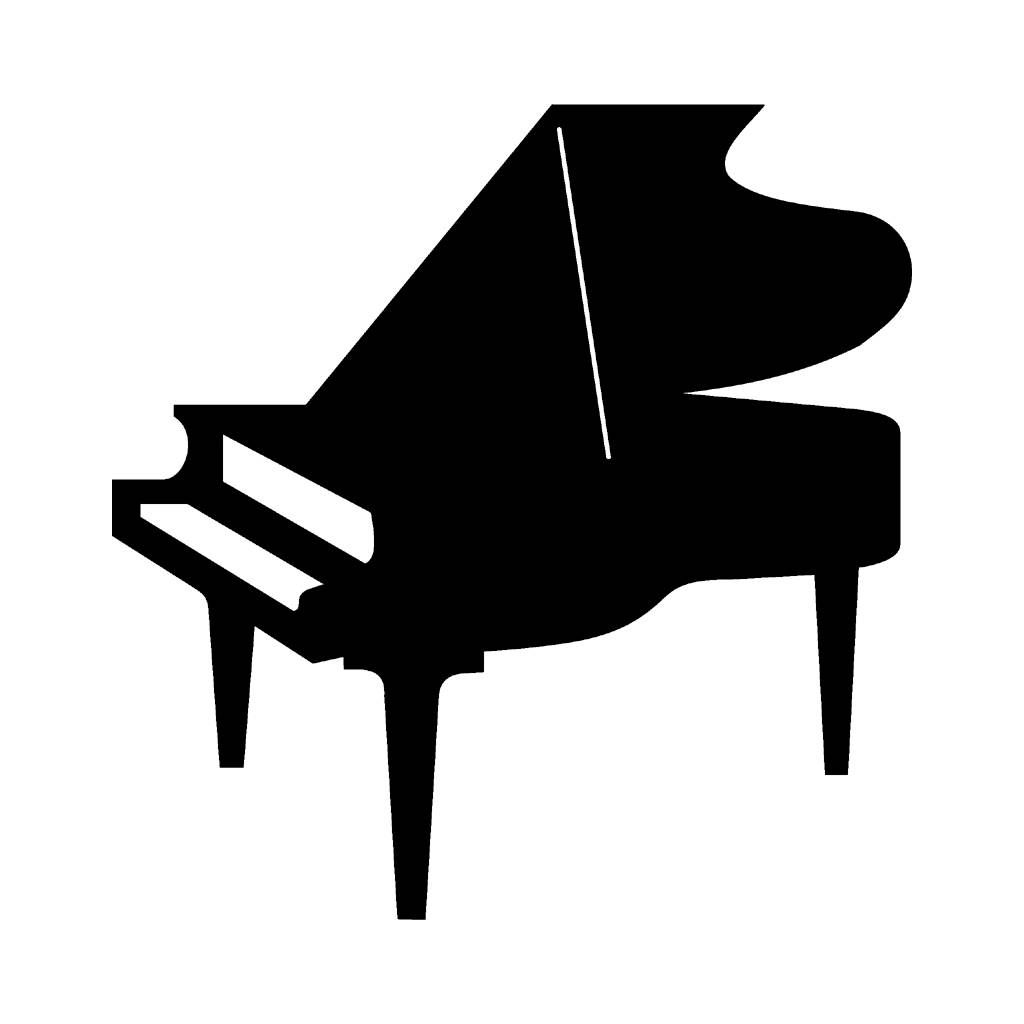 Pin on die cuts. Piano clipart piano performance