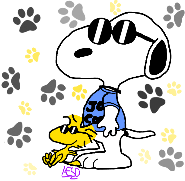 Clipart piano snoopy. Peanuts and woodstock by