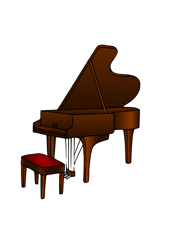 Clipartist net clip art. Piano clipart svg