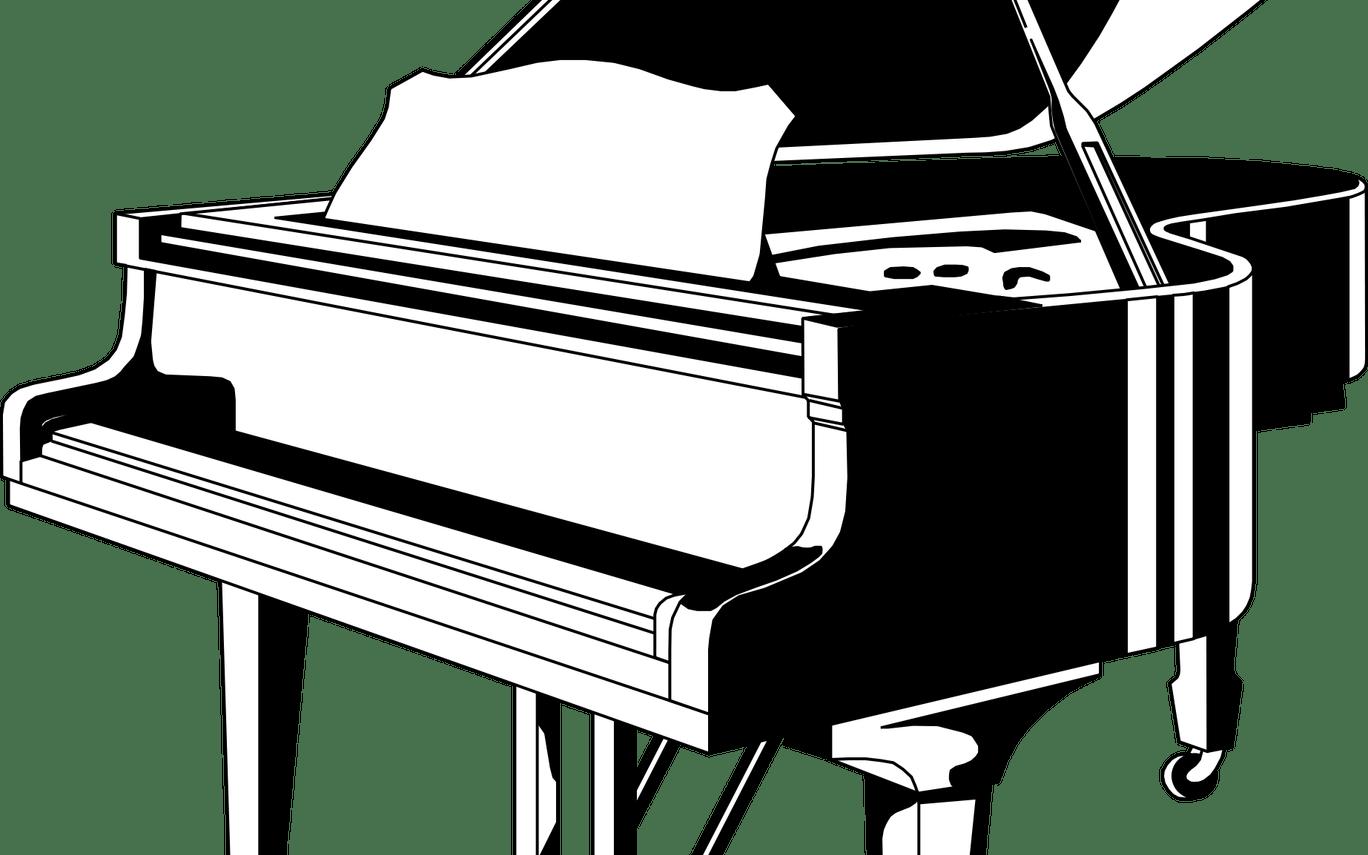 Piano clipart swirly. X free clip art