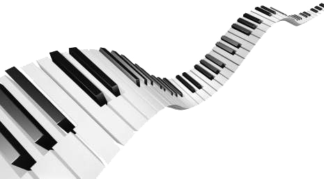 Free keys png download. Piano clipart swirly