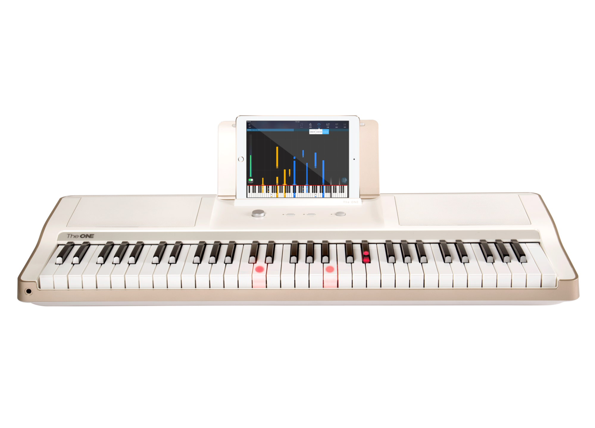 Piano clipart midi keyboard. The one smart light