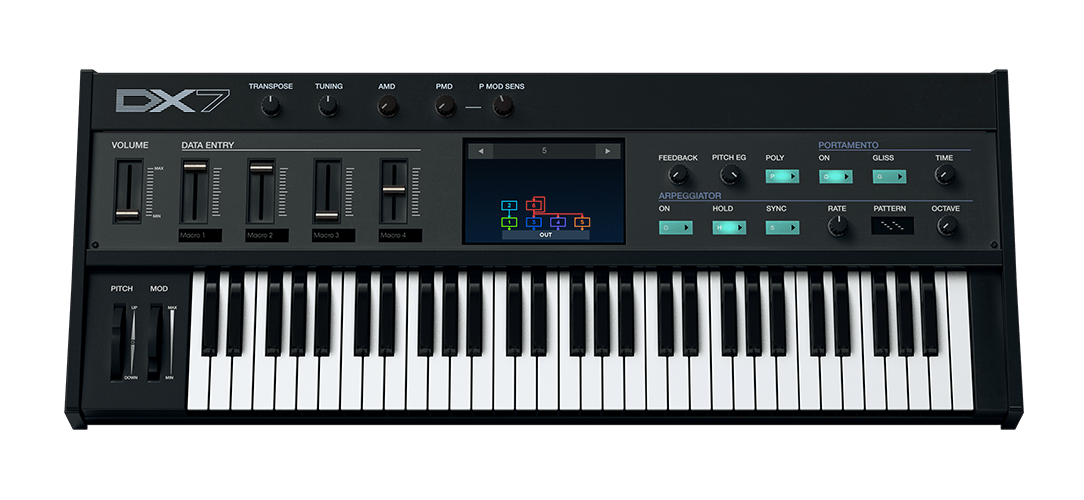 Piano clipart synthesizer. Arturia details dx v