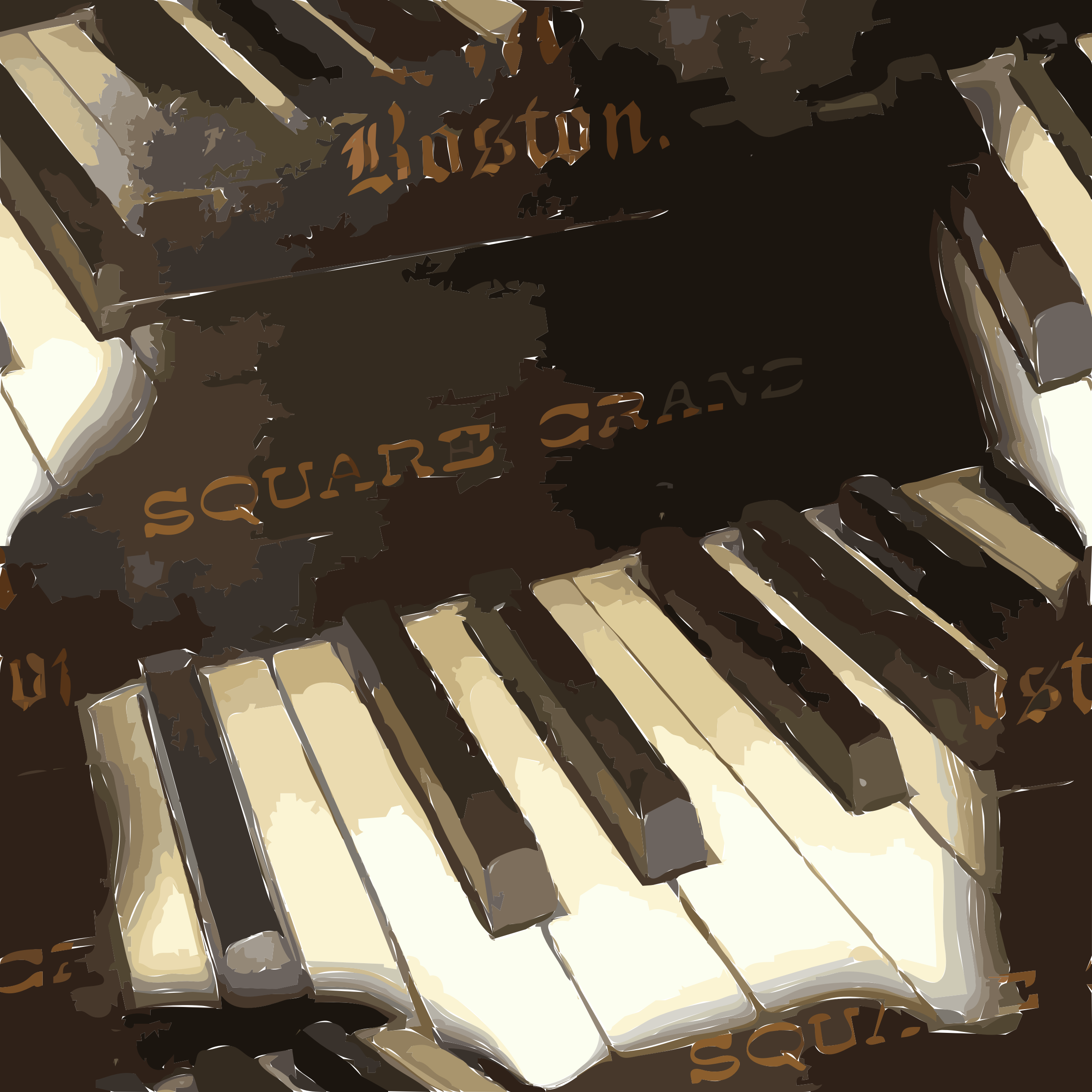 Piano clipart synthesizer. Tile big image png