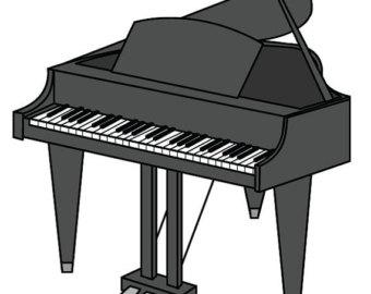 Clipart piano tiny. Free download clip art