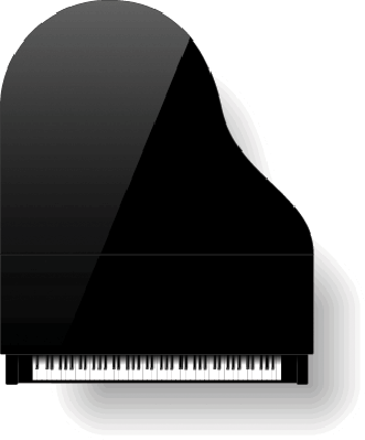 Piano clipart top view. Black grand pbs learningmedia