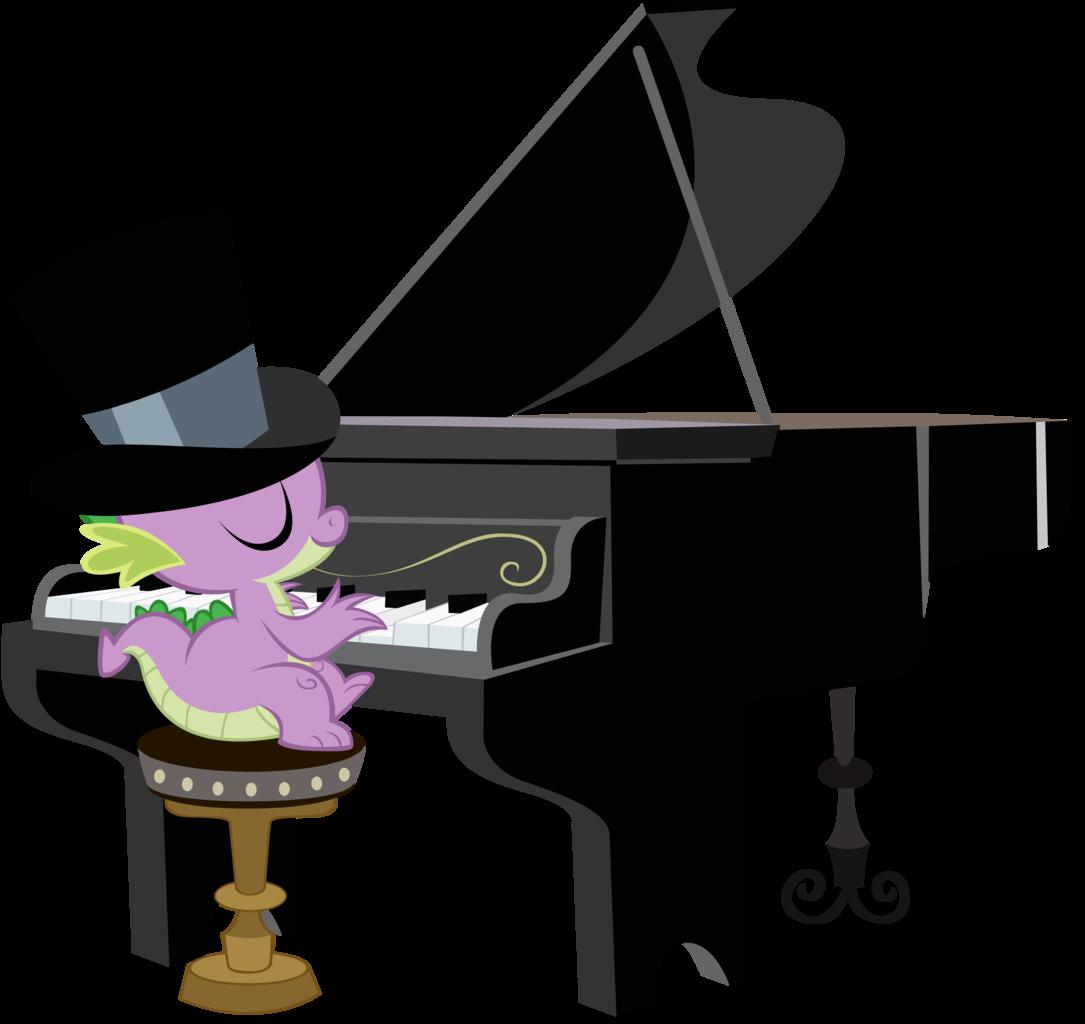 Clipart piano transparent tumblr.  artist boneswolbach hat