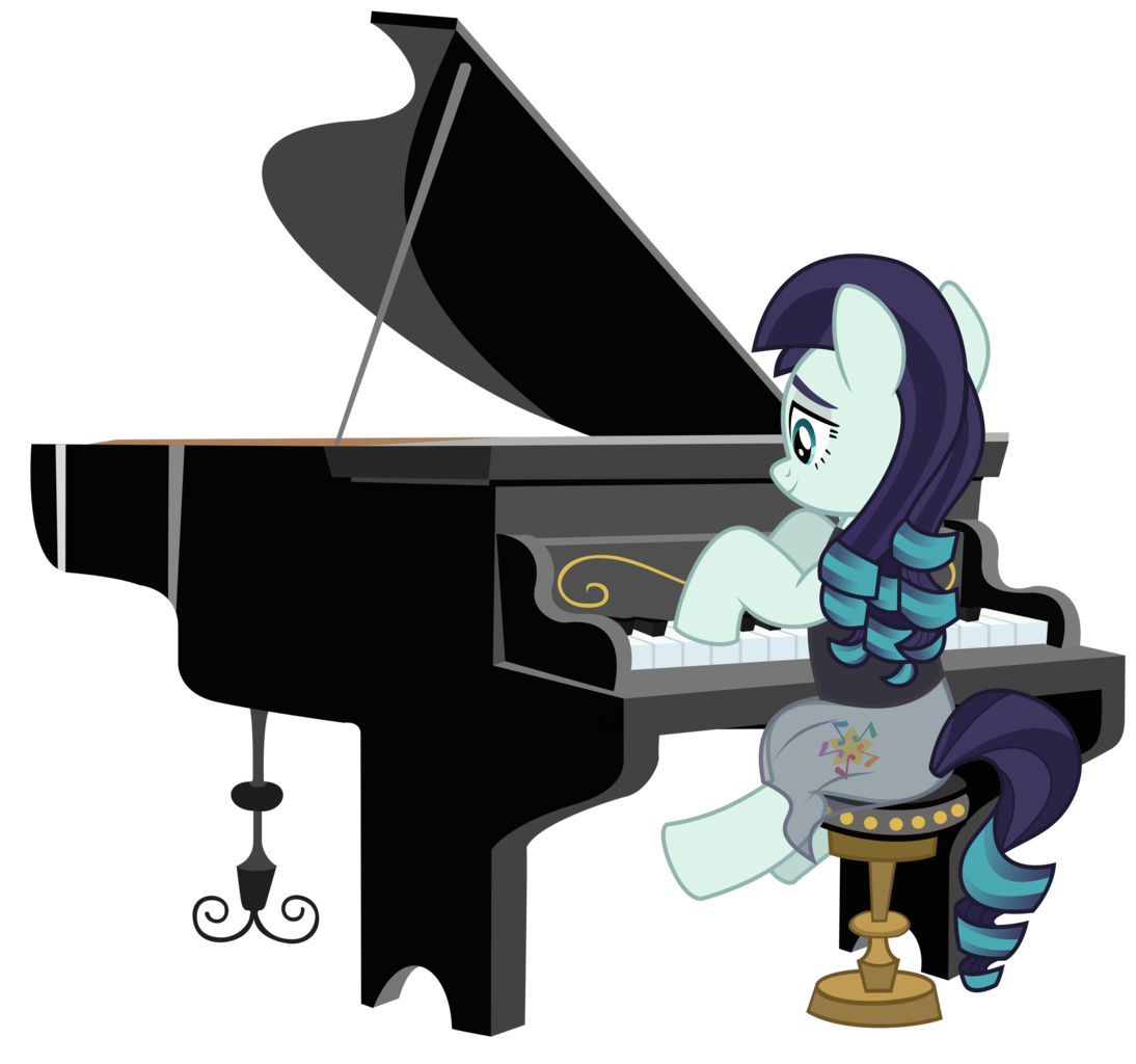 absurd res artist. Piano clipart clear background
