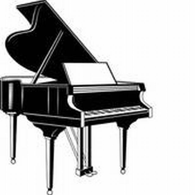 Piano clipart free vector. Clipartbarn