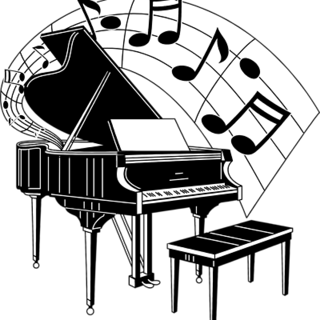 Clip art free bee. Piano clipart upright piano