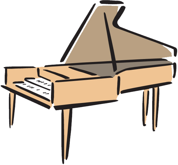 Piano clipart upright piano. Musical keyboard clip art