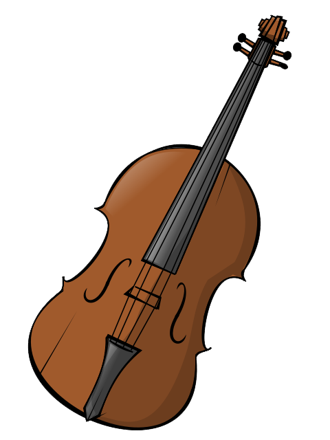 collection of and. Piano clipart violin