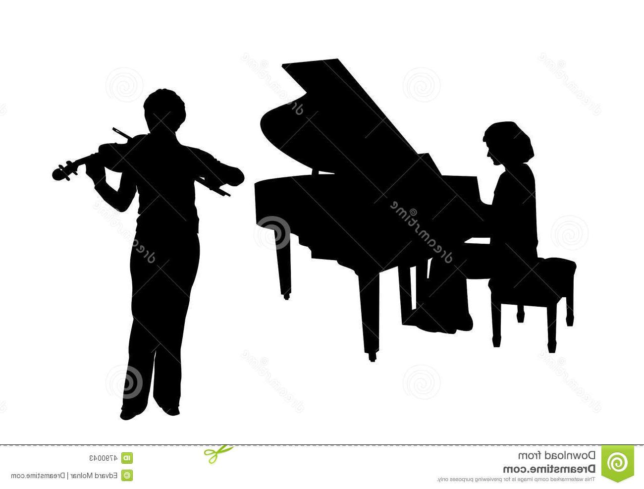 Best hd and violin. Piano clipart file