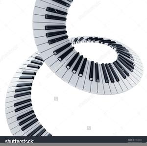 Piano free images at. Keyboard clipart wavy