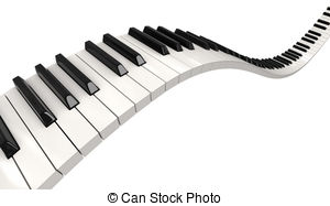 Piano clipart wavy. Free keys cliparts download