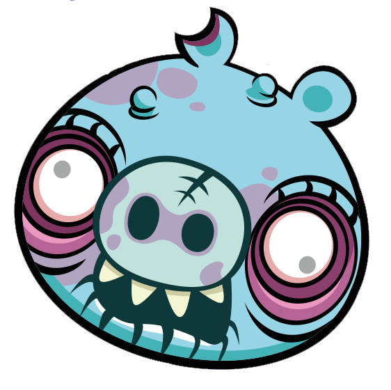 Hamster clipart angry. Image zombie large piggy