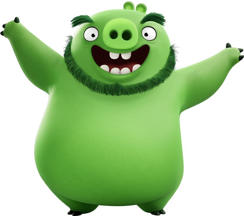 clipart pig angry bird