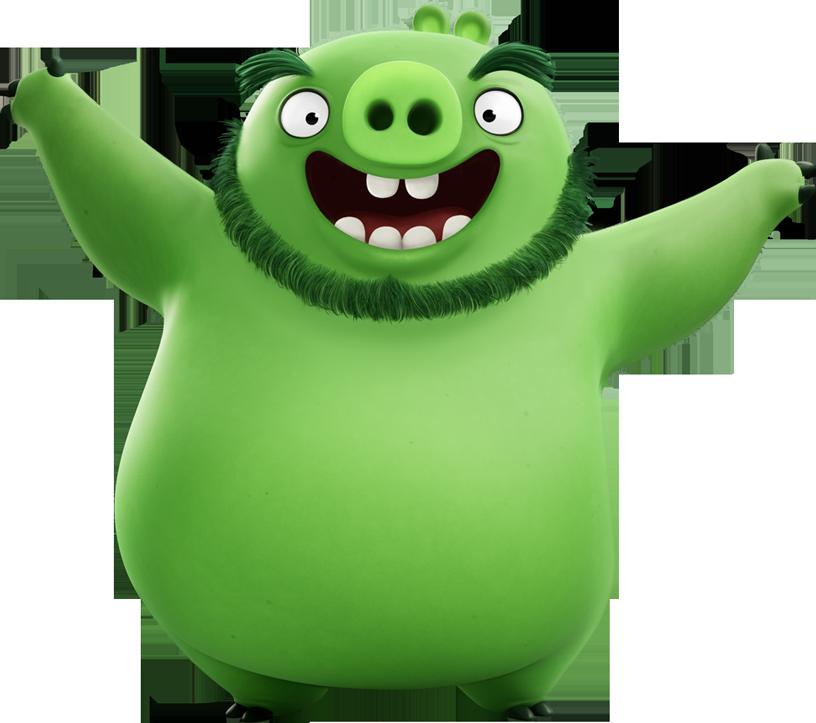 King leonard mudbeard villains. Clipart pig angry bird
