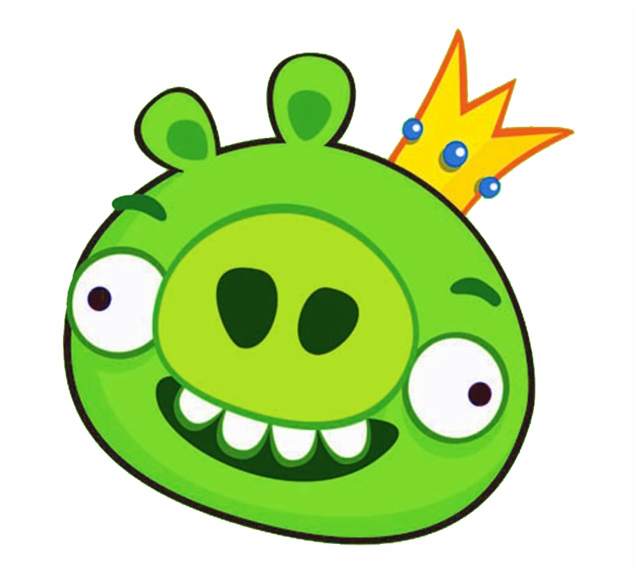 Clipart pig angry bird. Png image king transparent