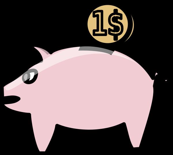 Piggy derivative clip art. Clipart pig bank