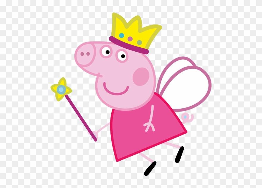 Clipart pig beach. Peppa princess png transparent