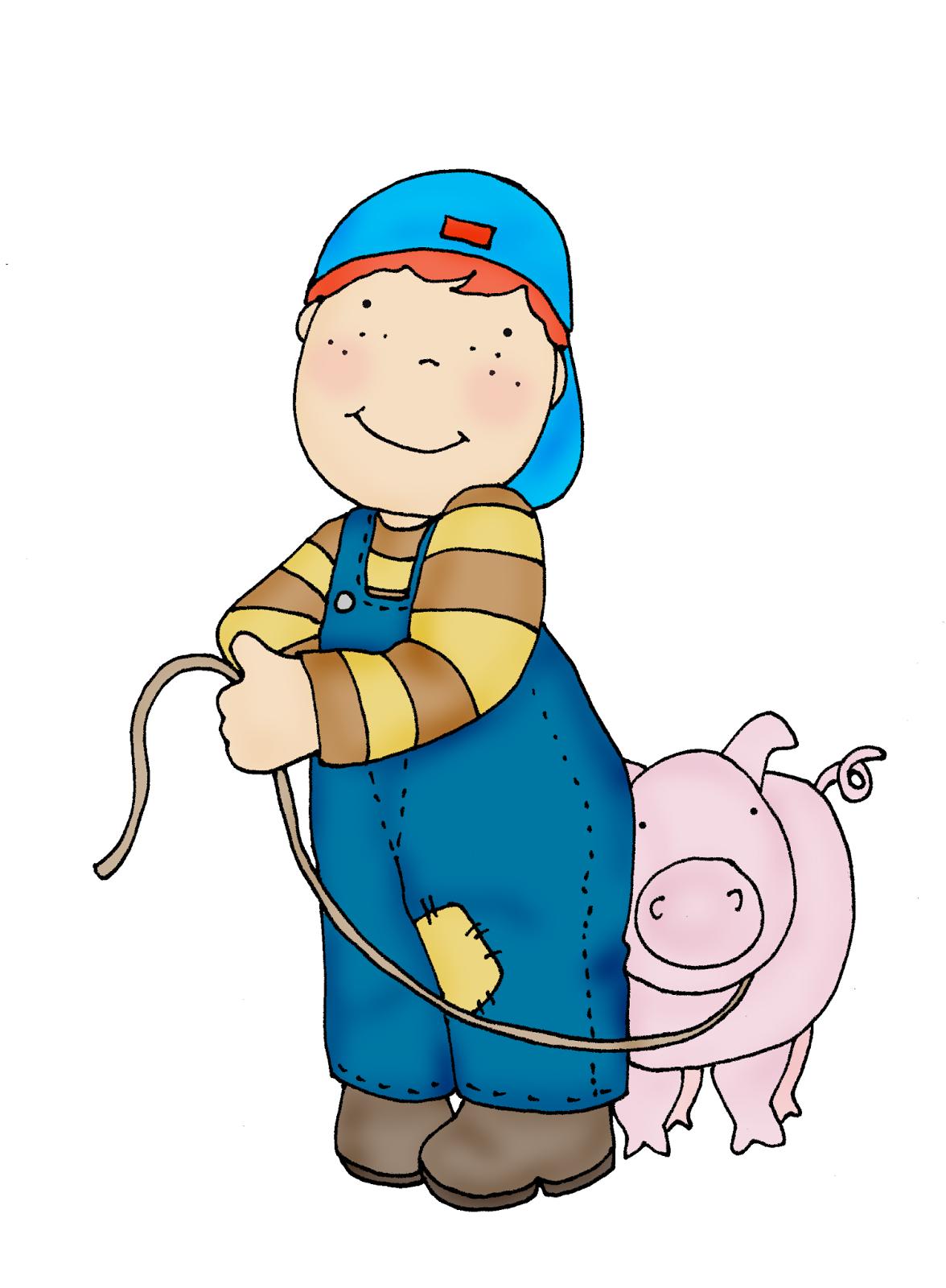 Free dearie dolls digi. Clipart pig boy