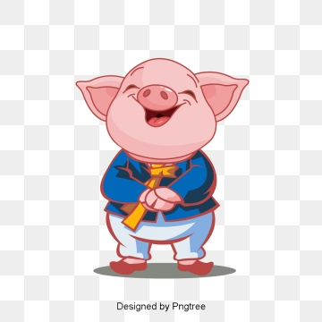 Png vector psd and. Clipart pig boy