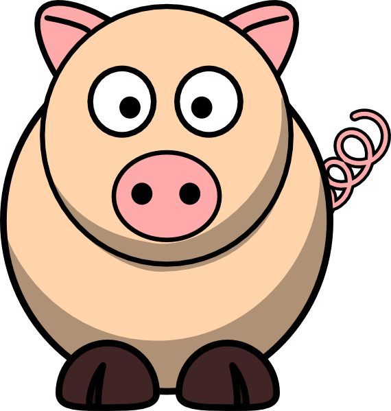 Wild at getdrawings com. Clipart pig bum