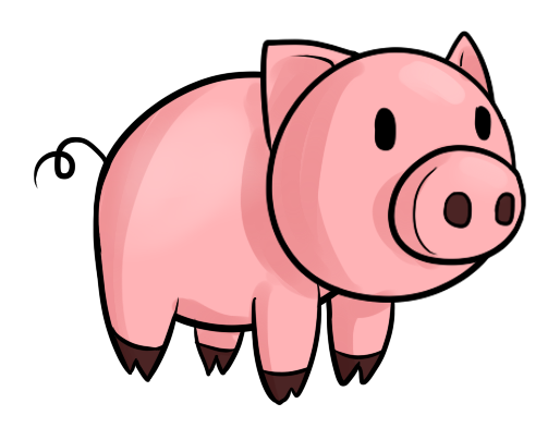 Free pictures of a. Hog clipart transparent background