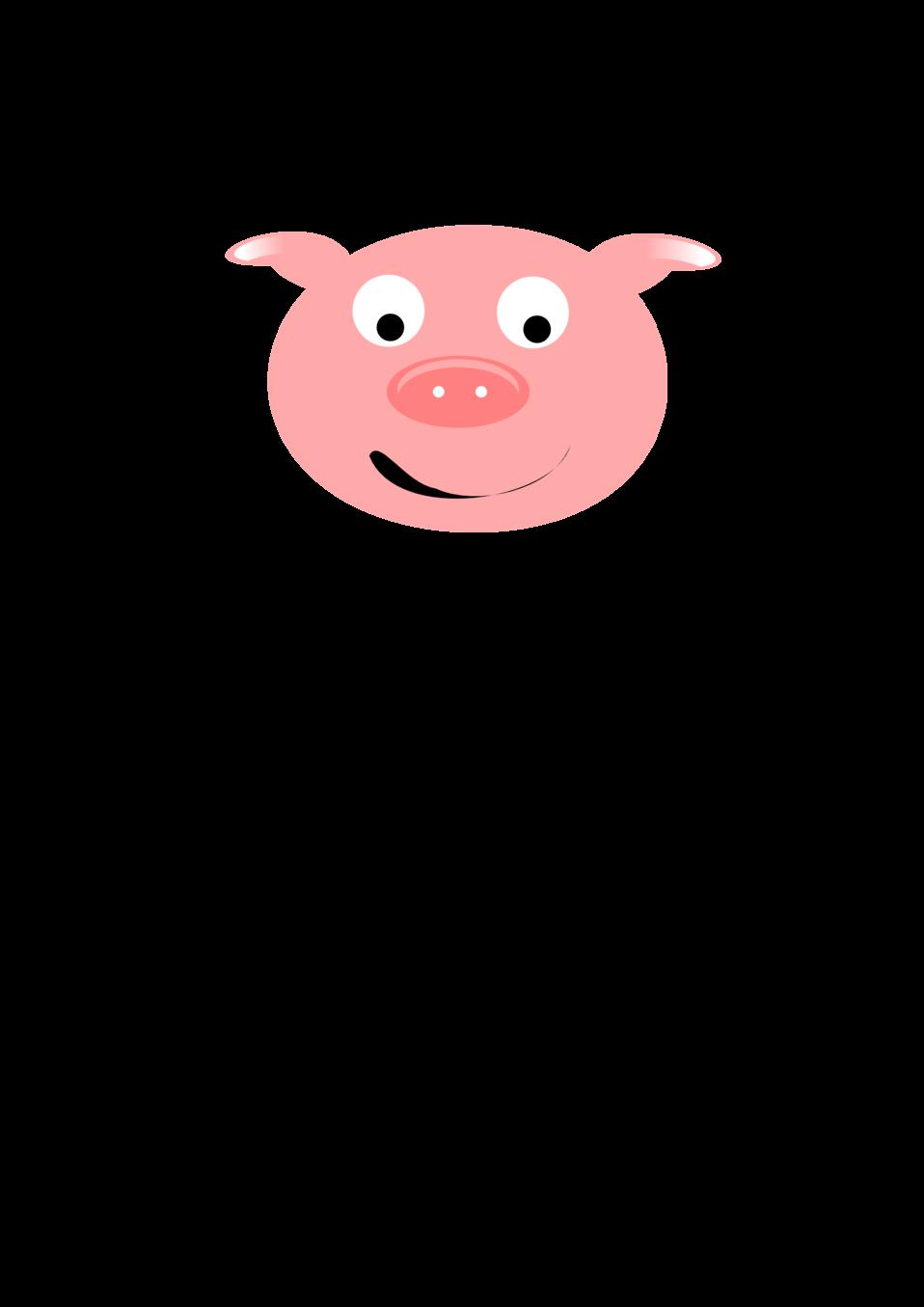 Public domain clip art. Clipart pig character