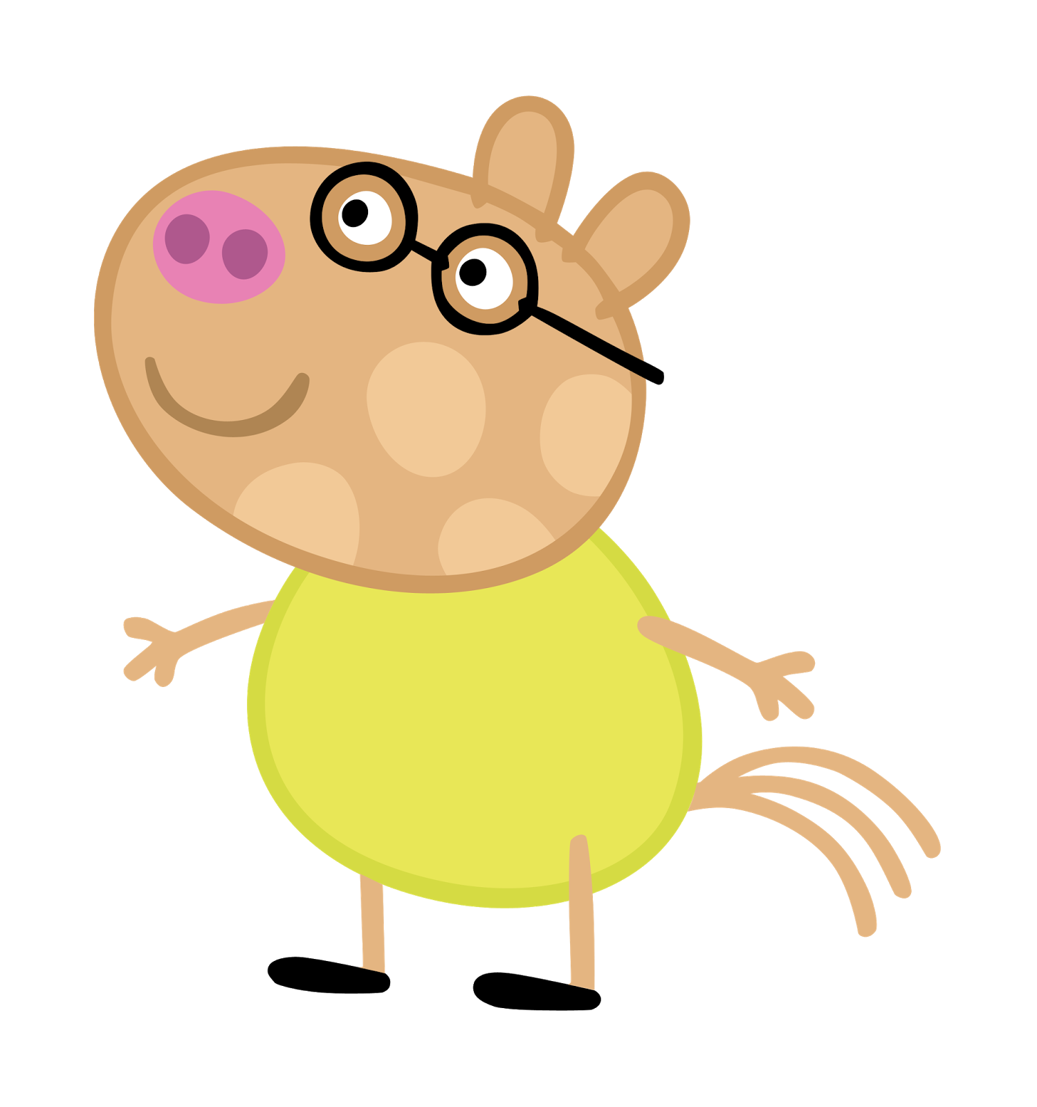 Cartoon characters peppa png. Families clipart pig