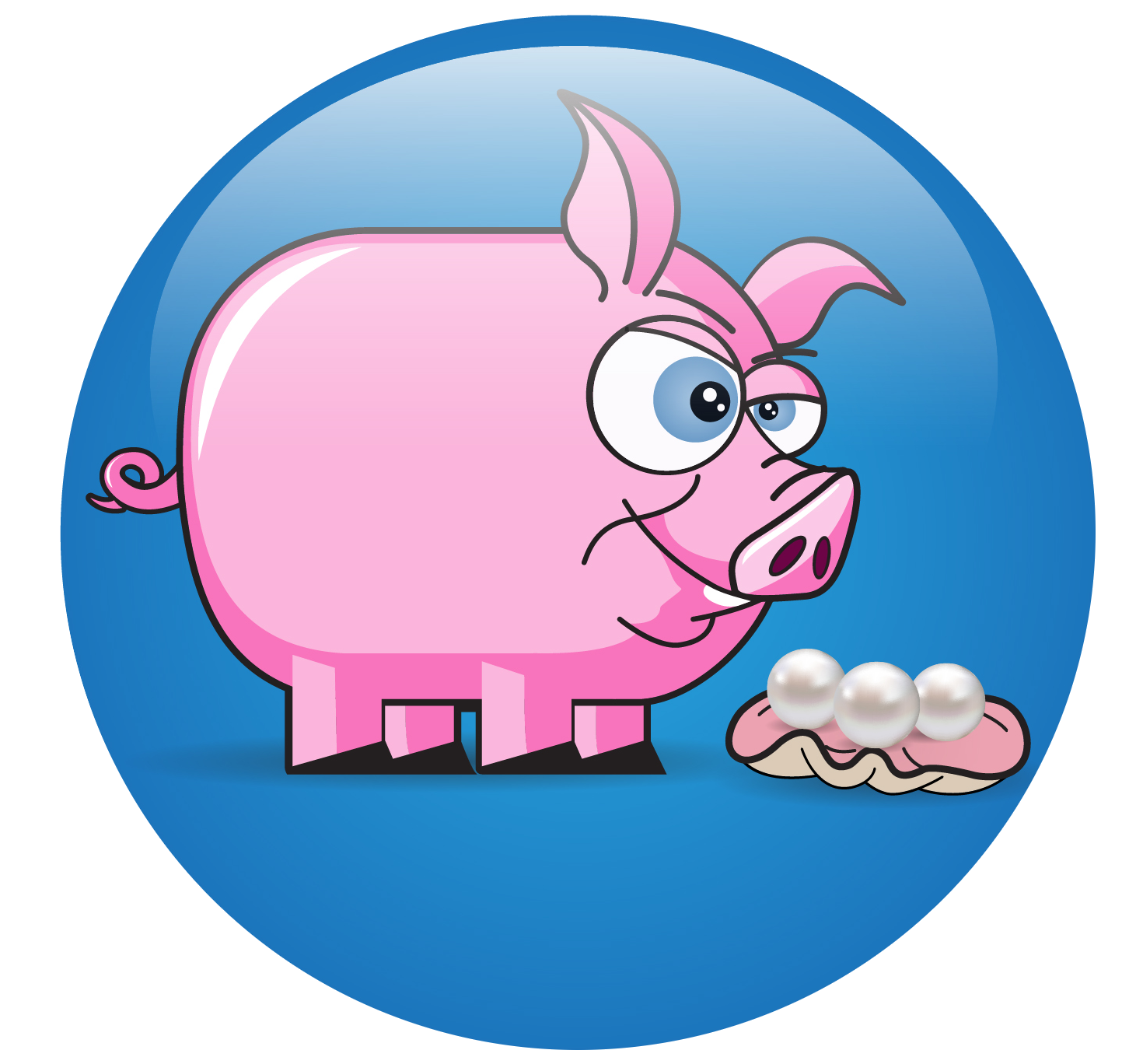 Tired clipart pig. Pearls before swinepearls swine