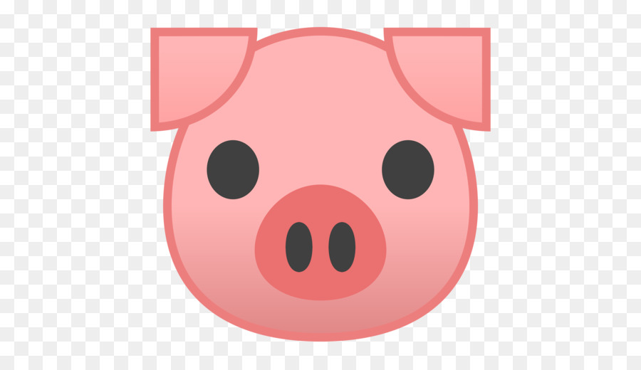 Cartoon nose transparent clip. Clipart pig circle