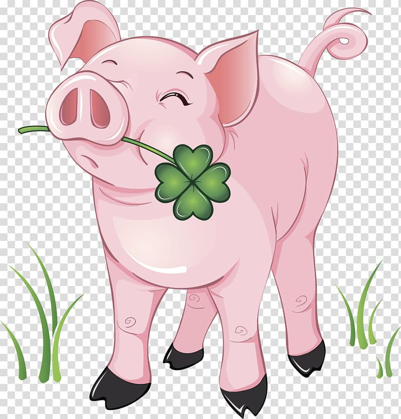Clipart pig clear background. Domestic transparent png