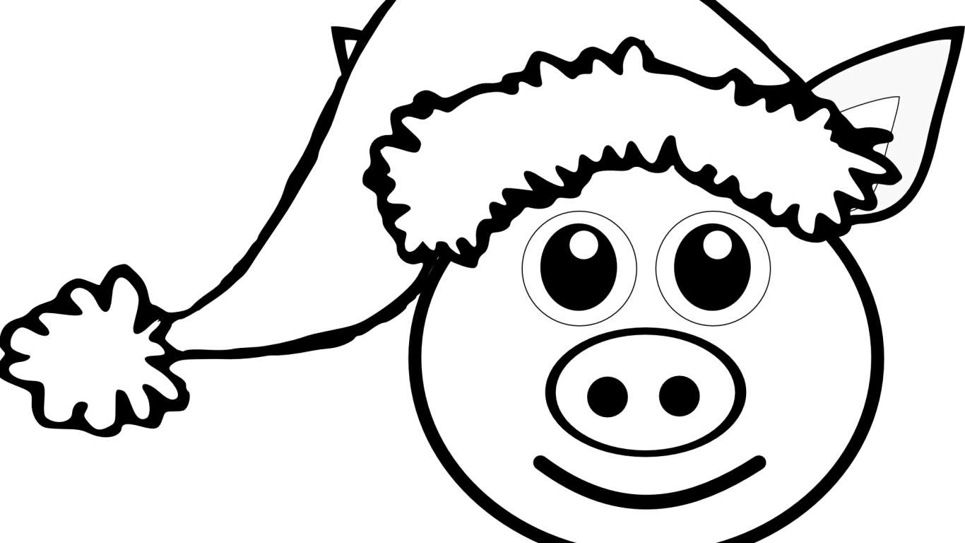 Clipart pig color. Simple drawing at getdrawings
